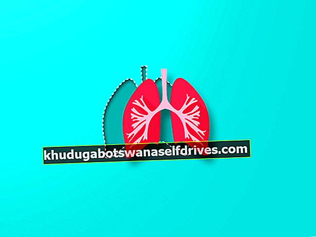 Človeški dihalni mehanizem in njegovi postopki in vrste