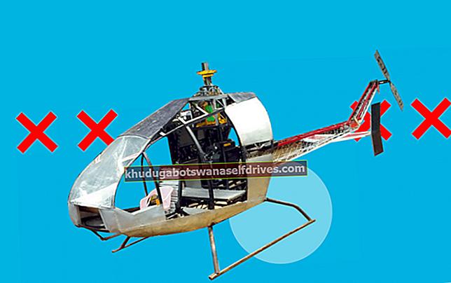 Helikopterji, ki jih je izdelal strug v Sukabumiju, ne morejo leteti (znanstvena analiza)