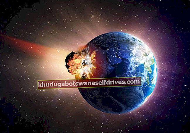 Izguba tehnologije zaradi udarca asteroida