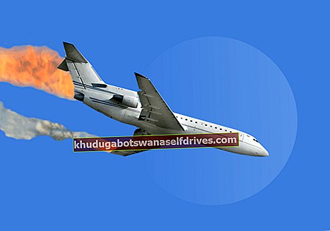 למעשה, מה גורם לתאונות במטוסים?